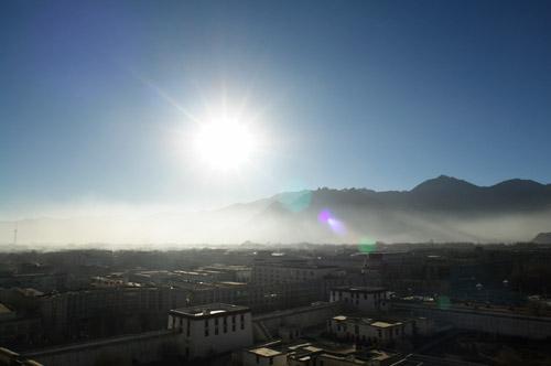 ポタラ宮最上部からの景色02