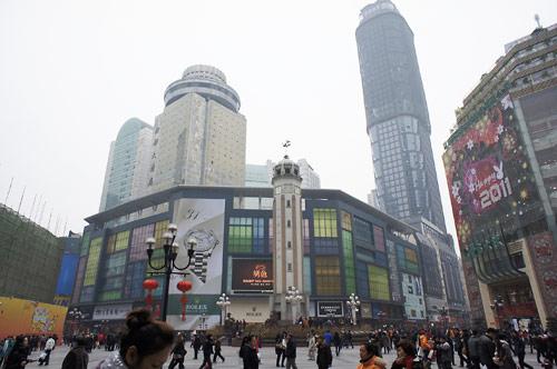重慶の町並み01